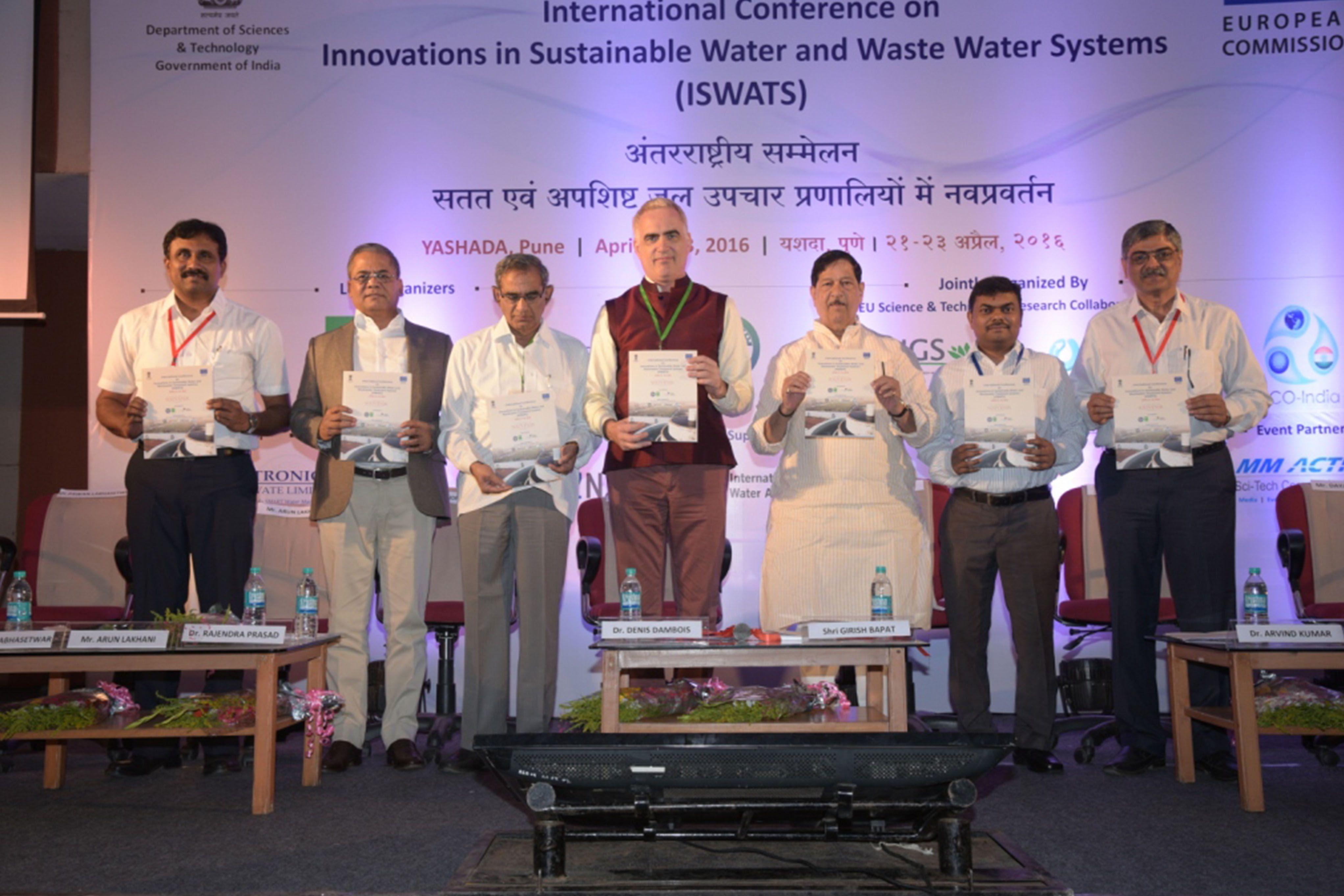 Proyecto NaWaTech: Conferencia Internacional sobre la Innovación en los Sistemas de Tratamiento del Agua Sostenibles 2016
