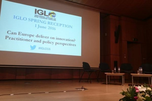 Discussion on H2020 innovation; IGLO SPRING RECEPTION 2016 (Informal group of RTD Liaison Offices)