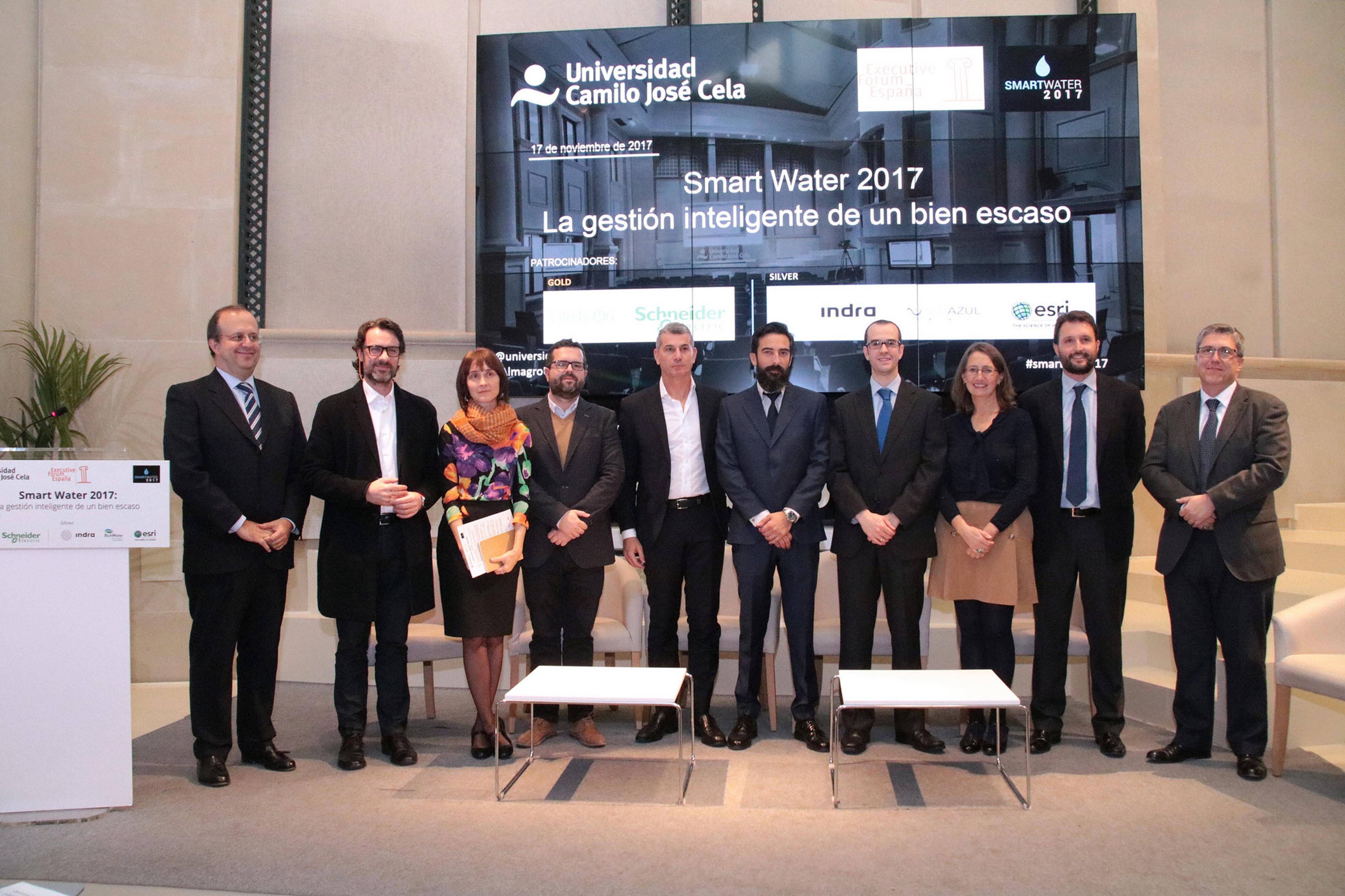SMART WATER 2017 regeneración de aguas residuales