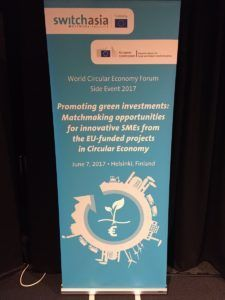 Roll up promoting green investments for a circular economy