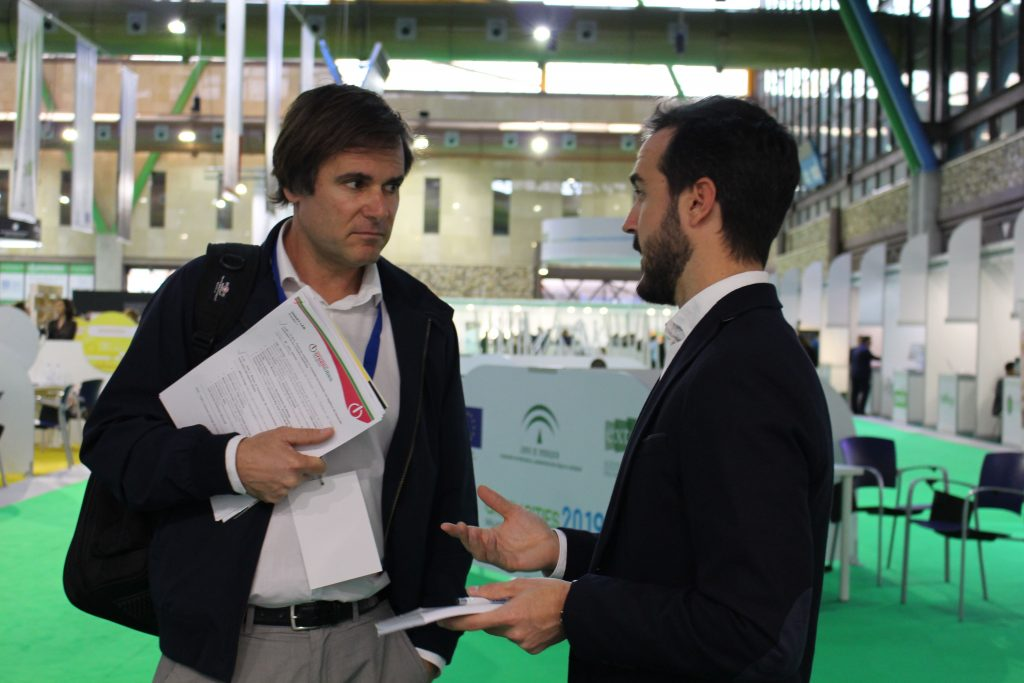 Stand Bioazul en Greencities