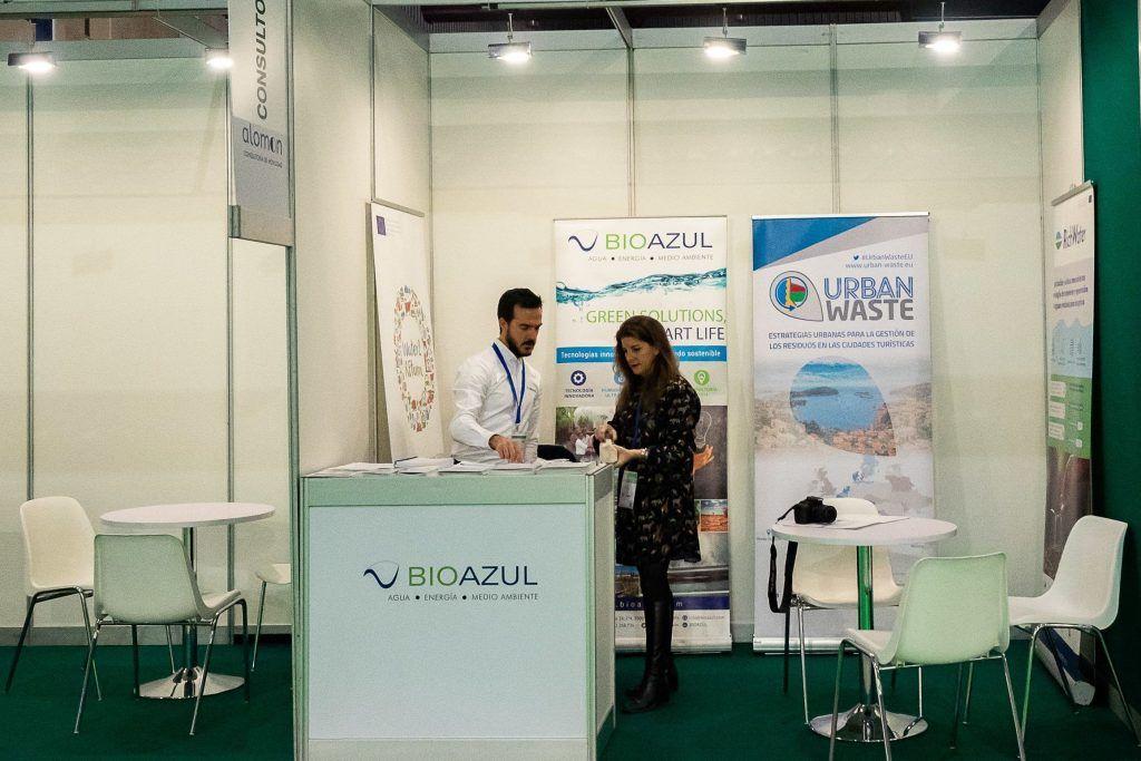 Bioazul Stand in Greencities
