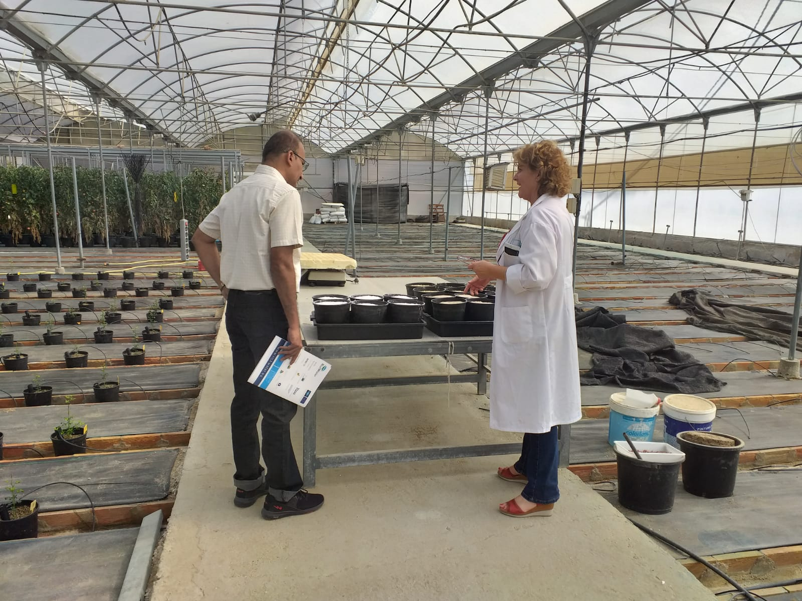 Visit of Prof. Girish to the RichWater site