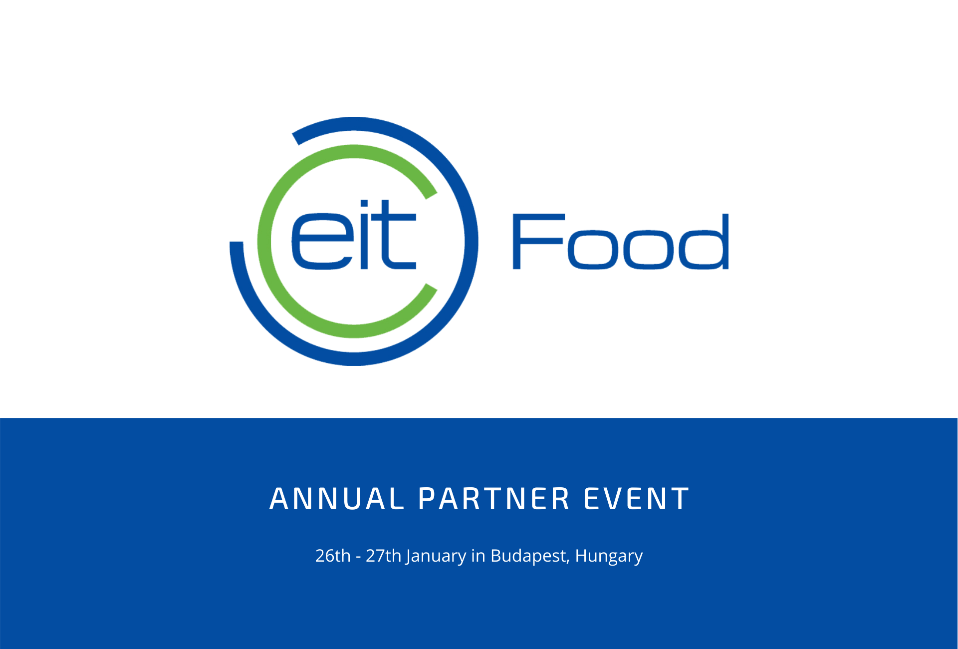 EIT Food Annual Partner Event