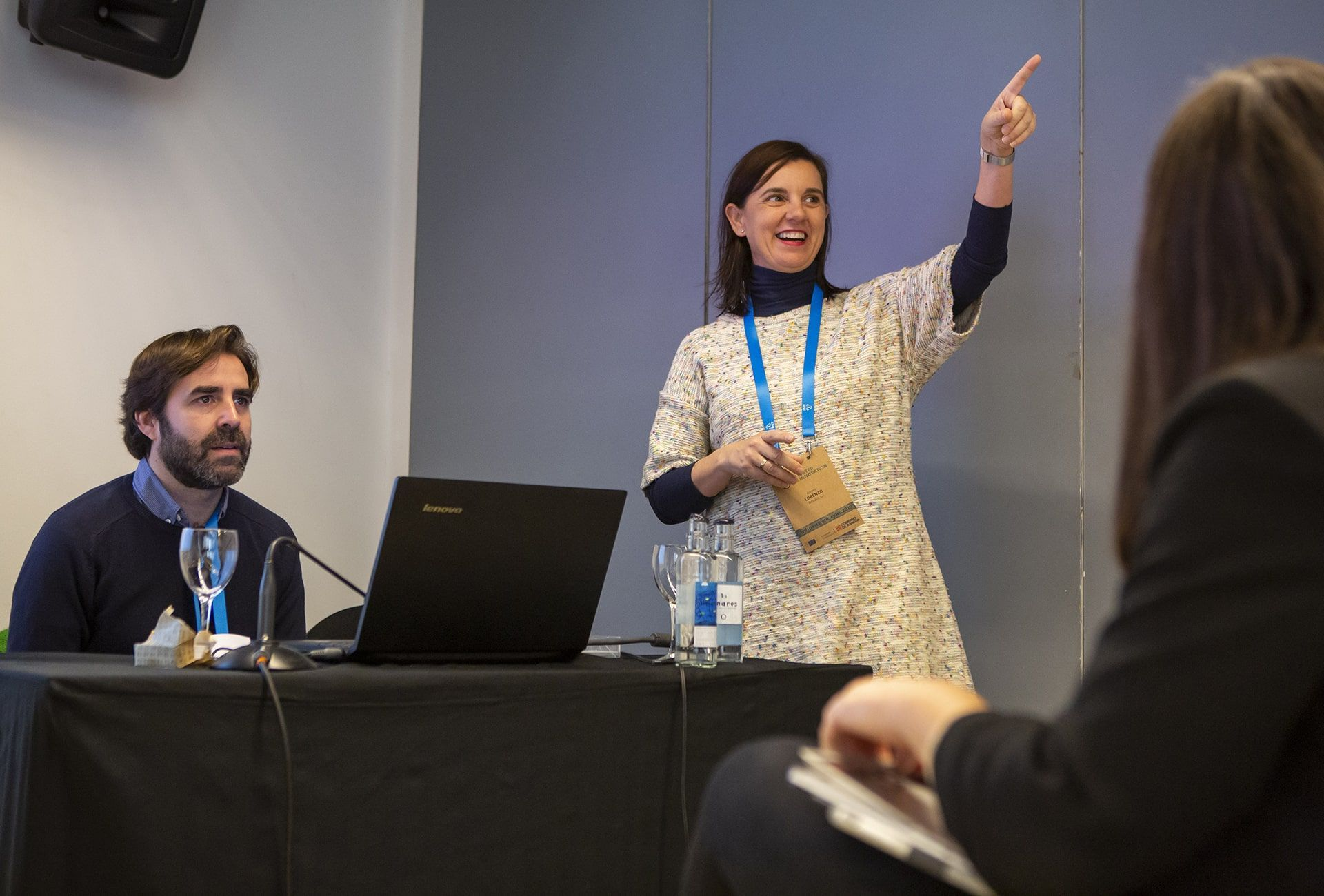 Antonia Lorenzo (Bioazul) presenta la plataforma europea del agua