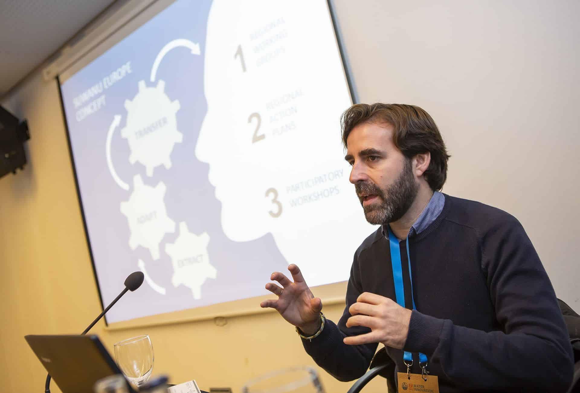 Rafael Casielles (Bioazul) presenta SUWANU EUROPE