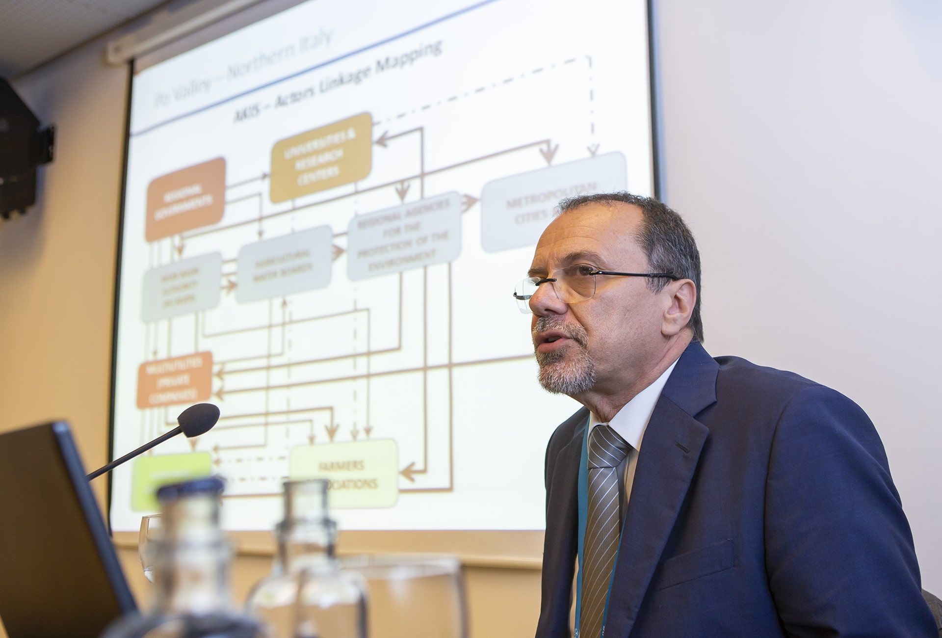 Adriano Battalini (CER) presenta la región Po river basin