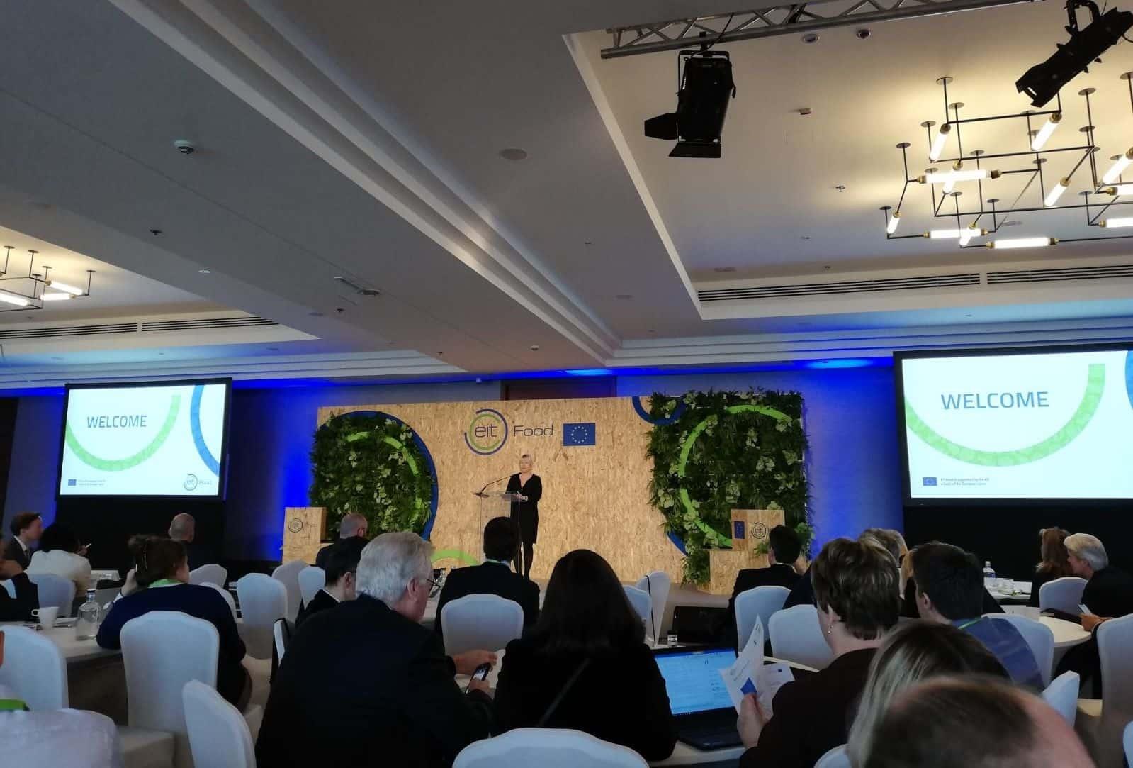 Conferencia en el evento anual de socios de EIT Food