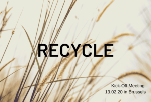 RECYCLE Kick-Off Meeting