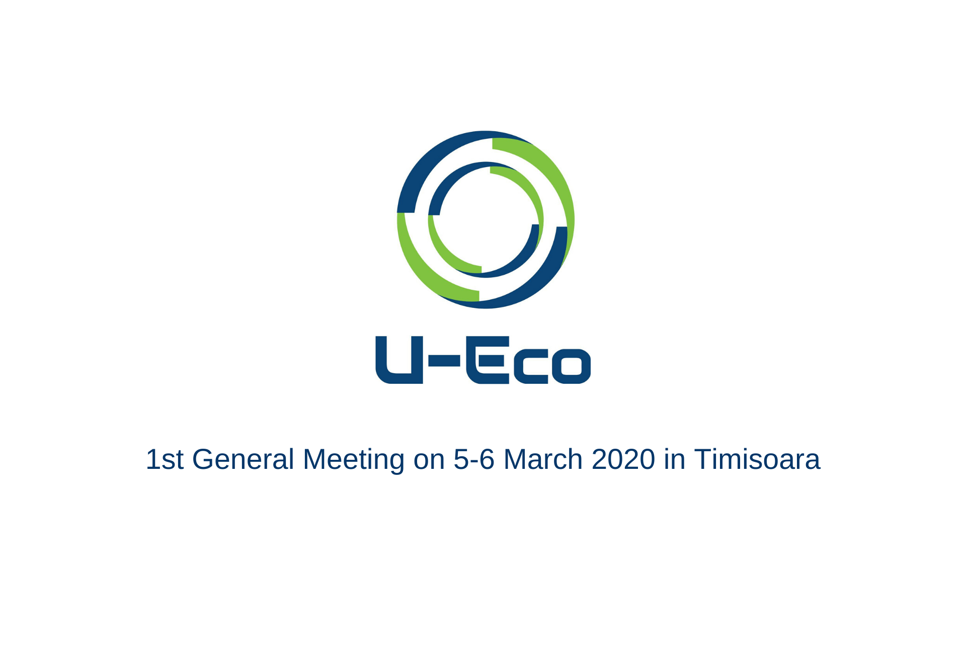 U-ECO General Meeting