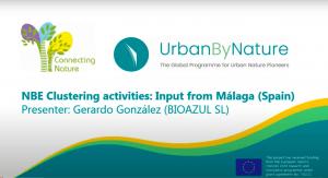Bioazul presentation of NbS Cluster in Málaga