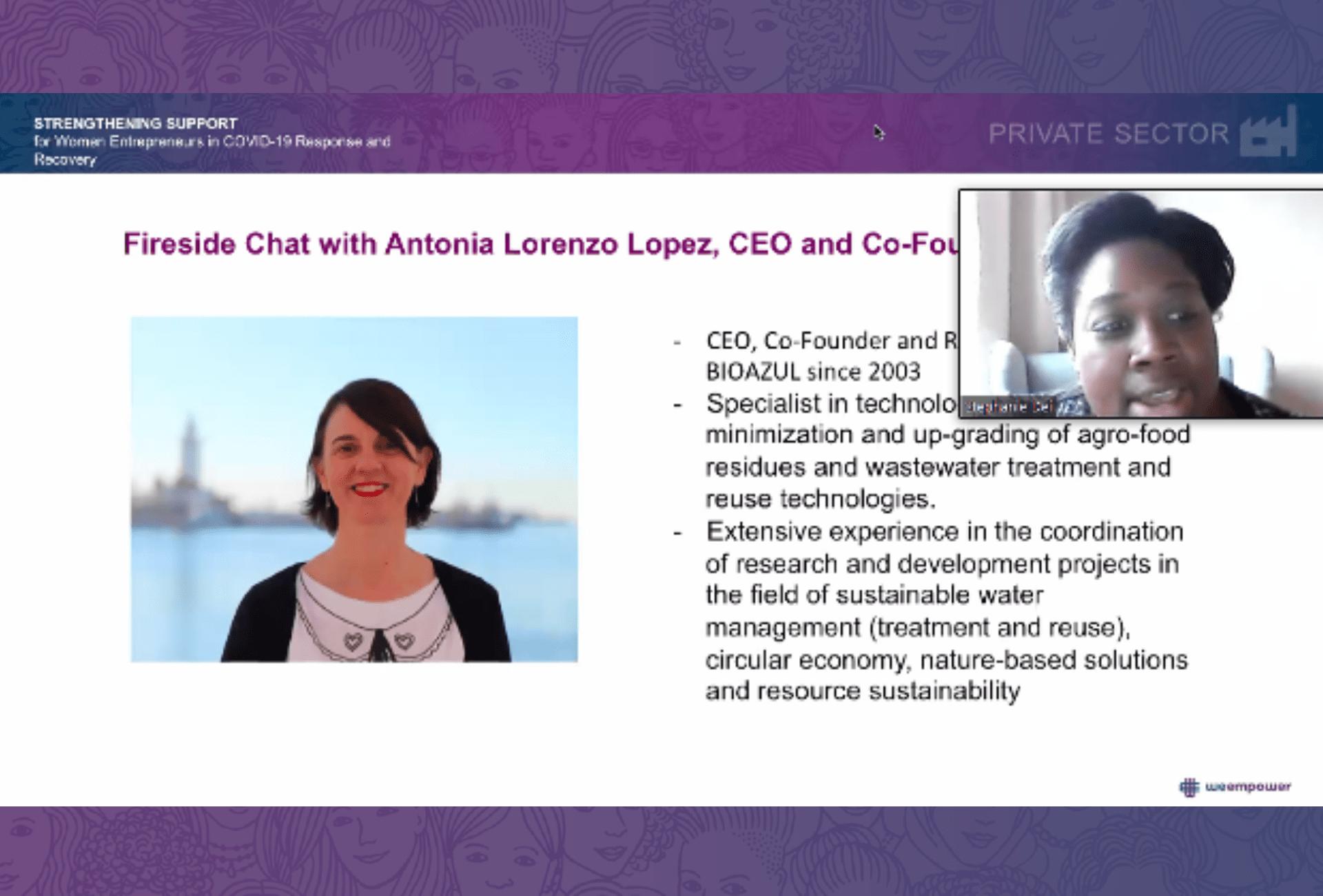 Antonia Lorenzo presentation