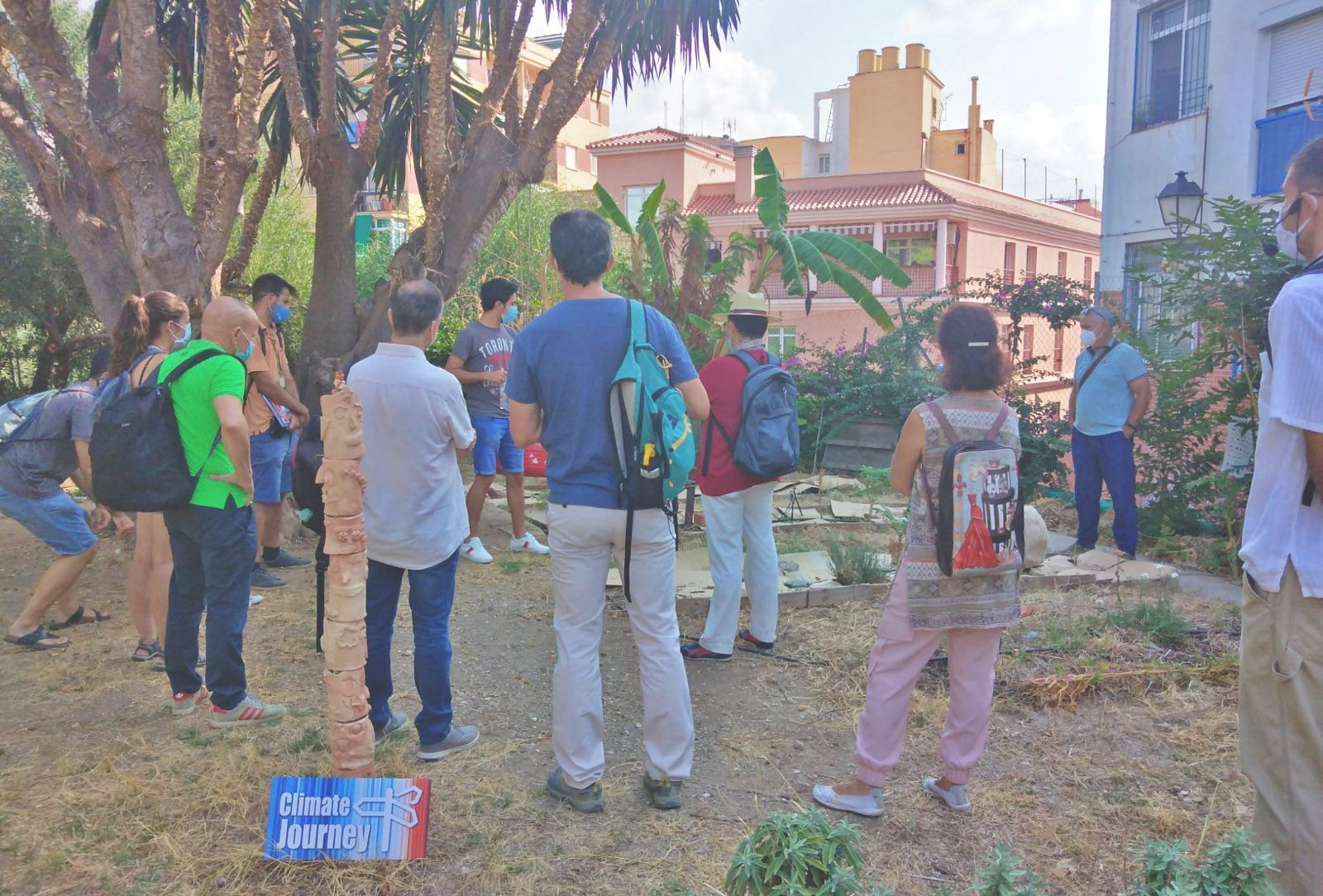 Visit to Malaga of the students of the UNIA course