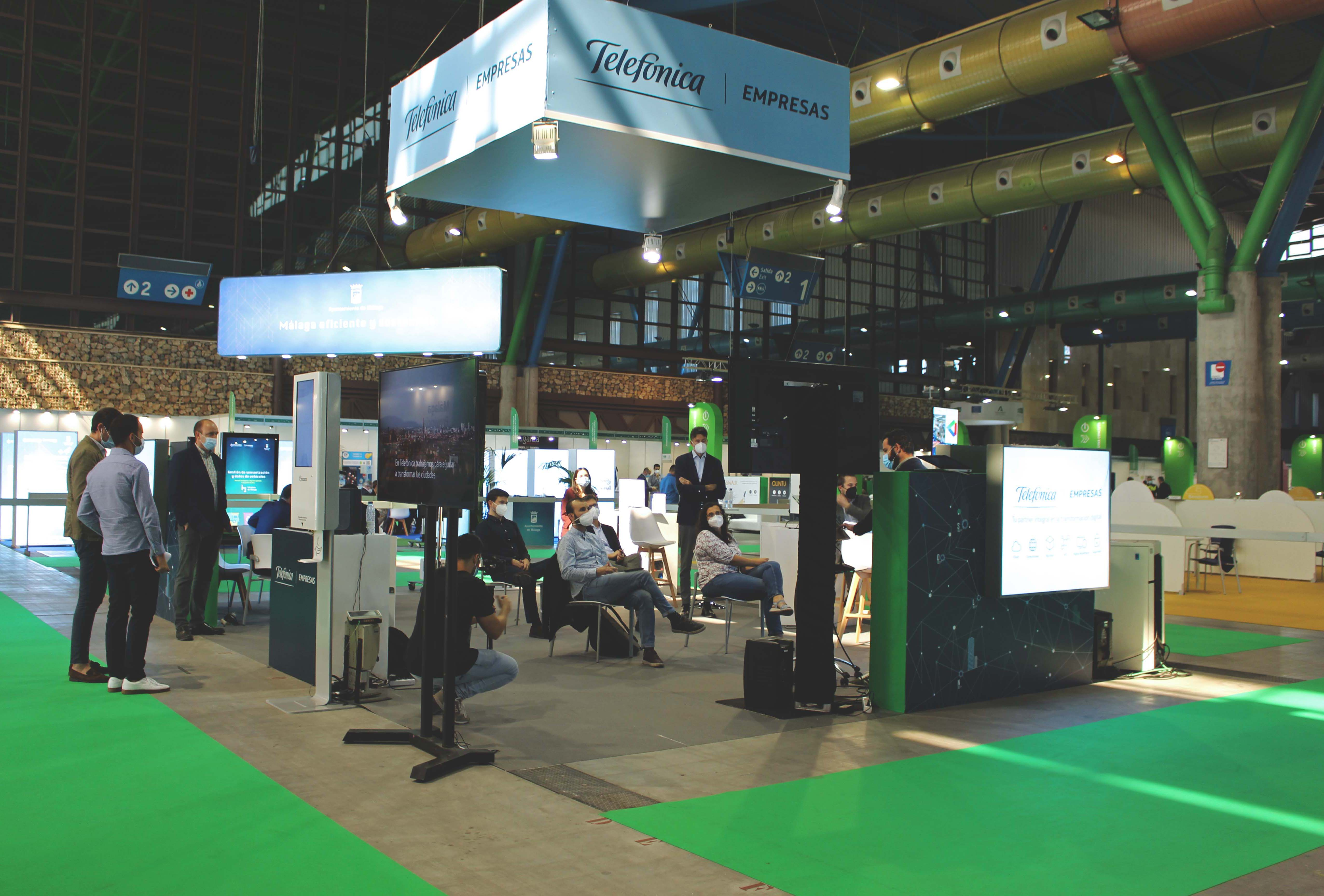 Exhibition area - Greencities