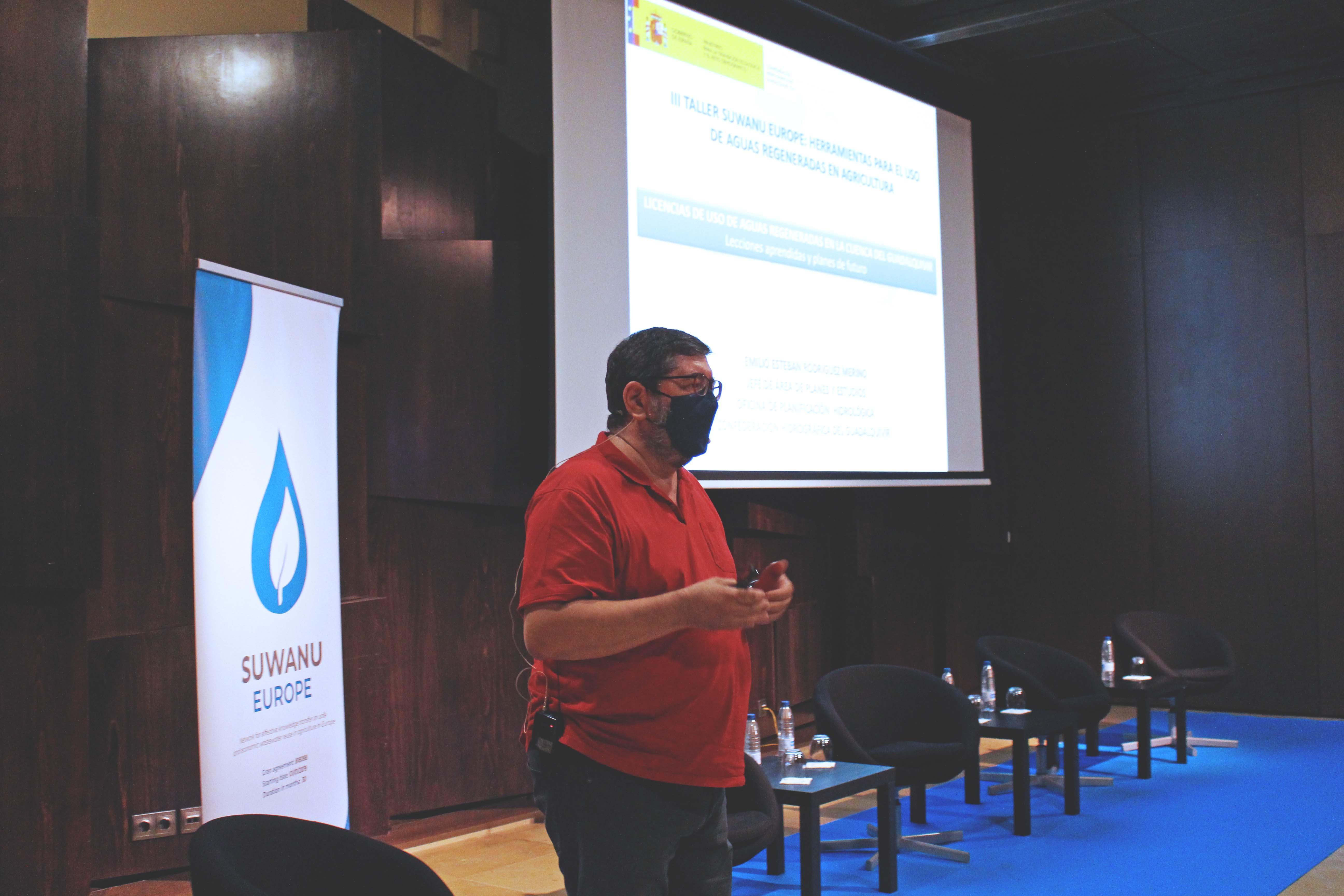 Emilio Rodríguez (CHG) presentation
