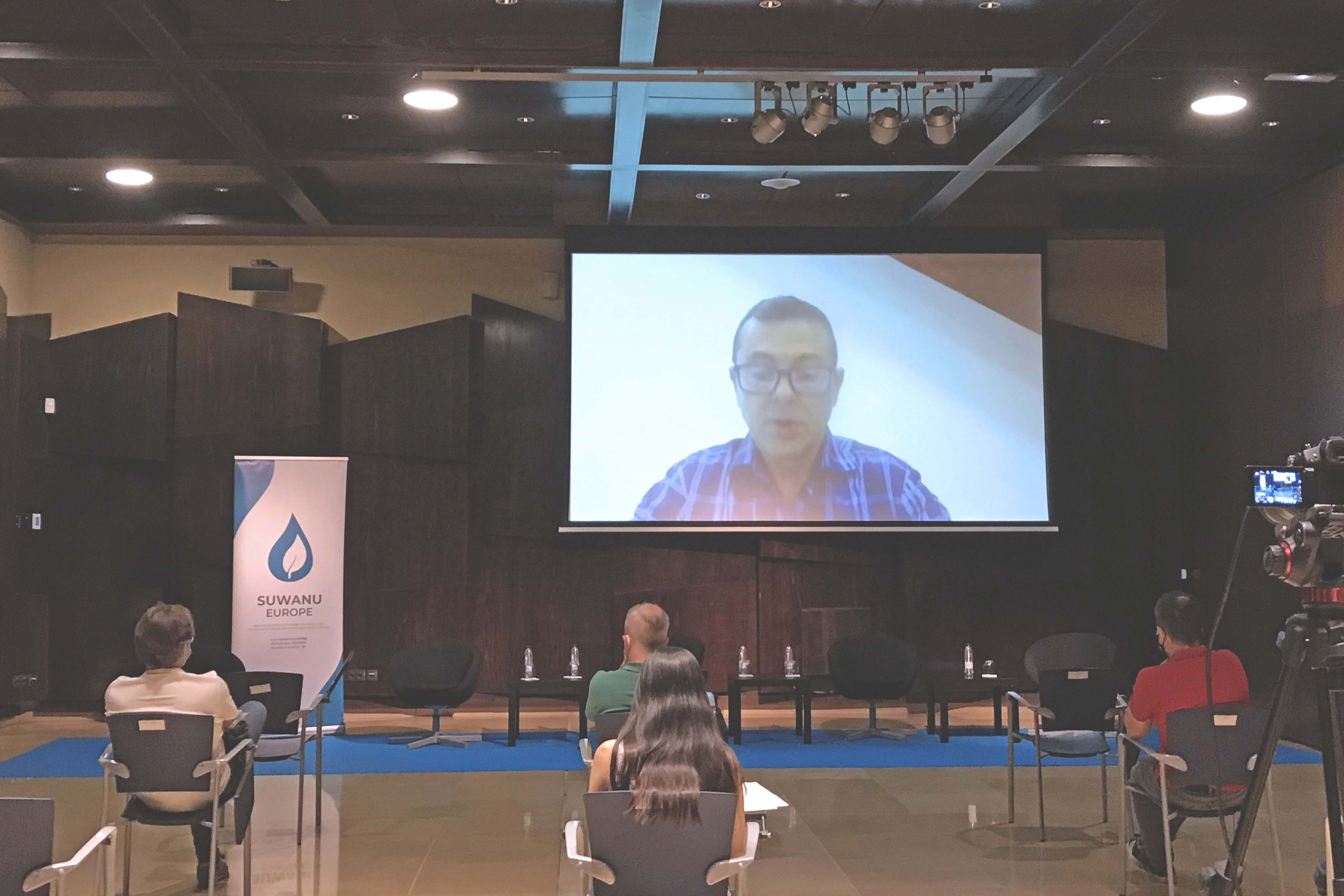 Antonio Montes (Comunidad de regantes Tintín) presentation