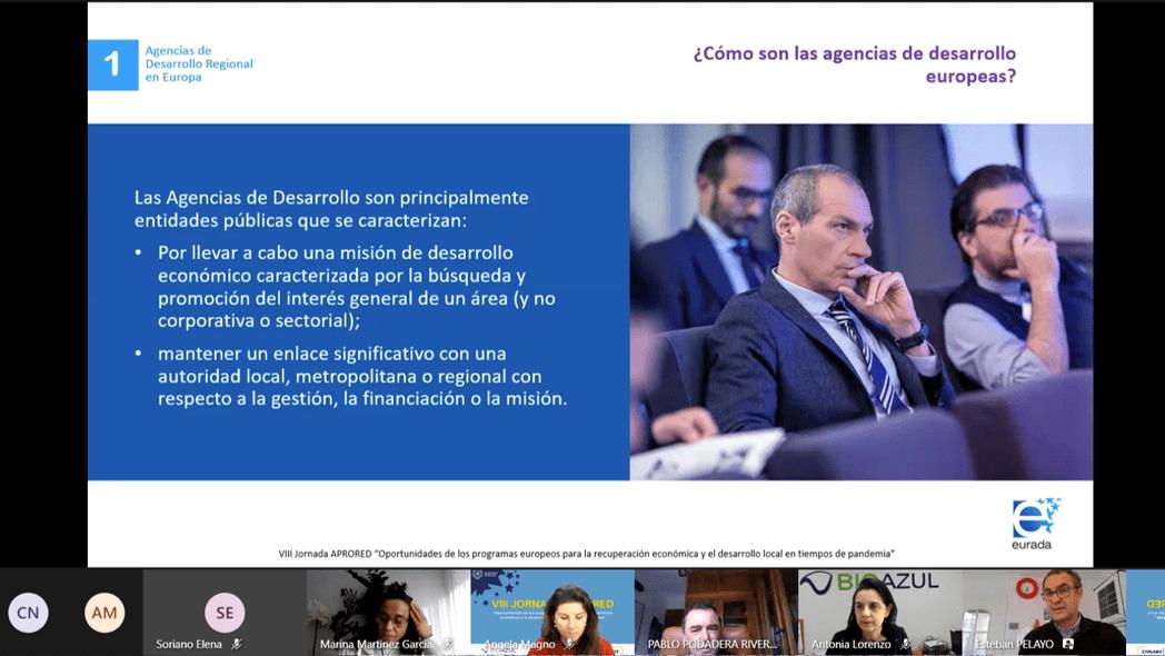 Presentation of  Esteban Pelayo (EURADA)