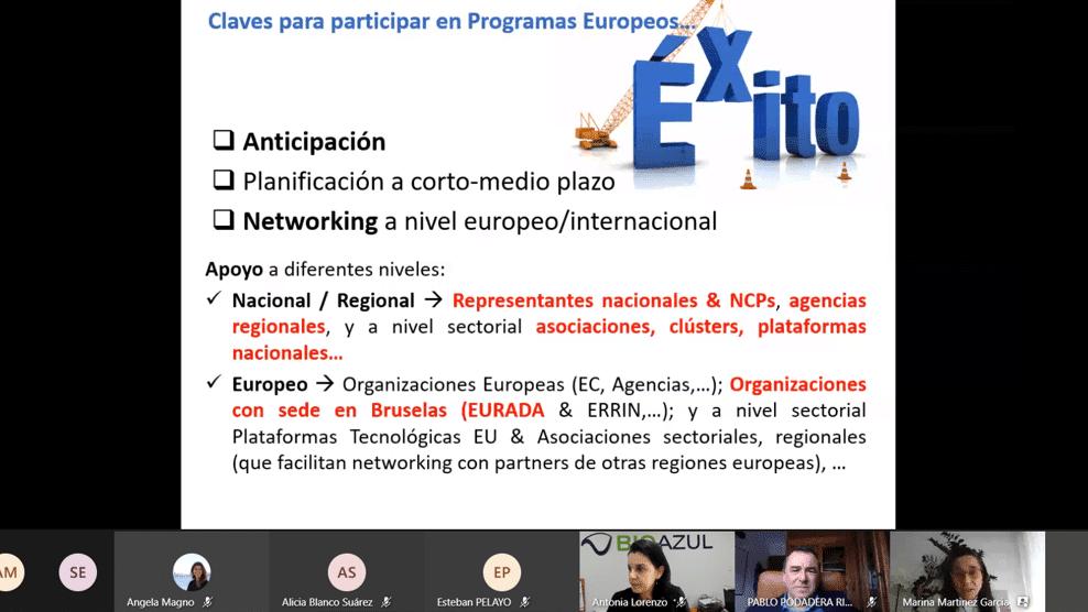 Presentation of Marina Martínez (CDTI – SOST Office)
