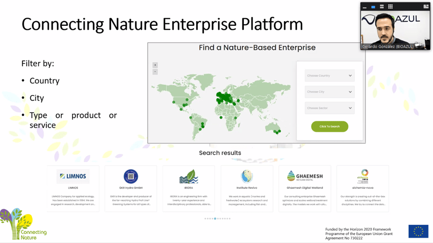 Platform presentation