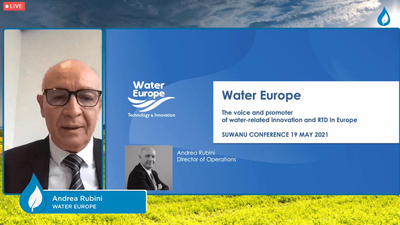 Andrea Rubini (Water Reuse Europe)